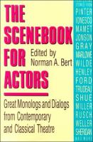 The Scenebook for Actors