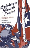 Confederate Research Sources