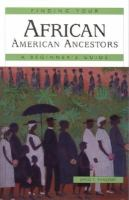 Finding your African American Ancestors