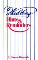 Wedding Hints & Reminders