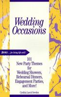 Wedding Occasions