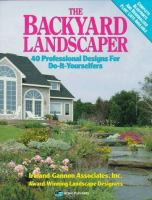 The Backyard Landscaper