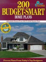 200 Budget-smart Home Plans