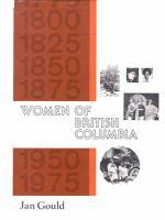 Women Of British Columbia