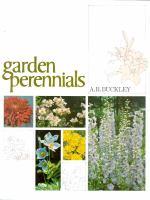 Canadian Garden Perennials