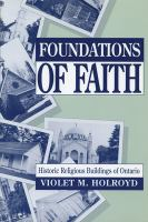 Foundations of Faith