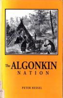 The Algonkin Tribe
