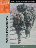 War and Peacekeeping
