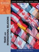 Trade and International Relations