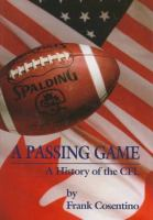 A Passing Game
