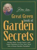 Jerry Baker's Great Green Book of Garden Secrets