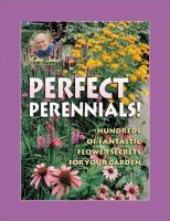 Jerry Baker's Perfect Perennials!