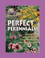 Jerry Baker's Perfect Perennials!