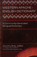 Western Apache-English Dictionary