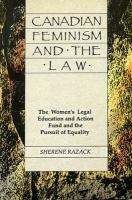 Canadian Feminism and the Law