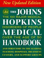 The Johns Hopkins Medical Handbook