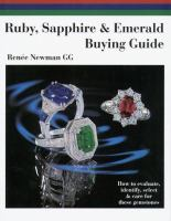 Ruby, Sapphire & Emerald Buying Guide