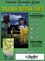 Colorado Recreation Guide, San Isabel National Forest