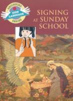 Signing at Sunday School