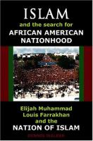 Islam and the Search for African-American Nationhood