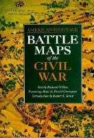 American Heritage Battle Maps of the Civil War