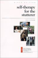 Self-therapy for the Stutterer