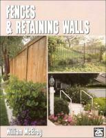Fences & Retaining Walls
