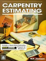 Carpentry Estimating