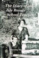The Diary of An Isle Royale School Teacher