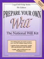 Prepare your Own Will