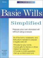 Basic Wills Simplified