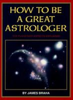 How to Be A Great Astrologer