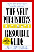 The Self Publisher's Ultimate Resource Guide