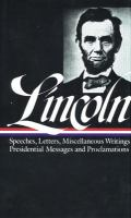Speeches and Writings 1859-1865