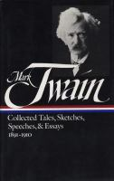 Collected Tales, Sketches, Speeches & Essays, Volume 2
