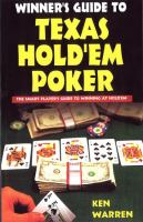 The Winner's Guide to Texas Hold'em Poker