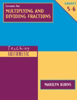 Lessons for Multiplying and Dividing Fractions