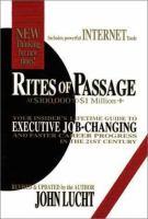 Rites of Passage at $100,000 to $1 Million+