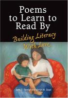 Poems to Learn to Read by