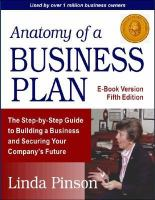 Anatomy of A Business Plan