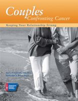 Couples Confronting Cancer; Keeping Your Relationsip Strong: C By Joy L. Fincannon & K. Bruss