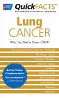 Quick Facts Lung Cancer