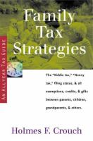 Family Tax Strategies