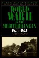 World War II in the Mediterranean, 1942-1945