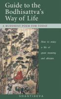 Shantideva's Guide to the Bodhisattva's Way of Life
