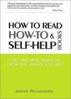 How to Read How-to and Self-help Books