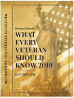 What Every Veteran Should Know 2019