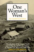 One Woman's West