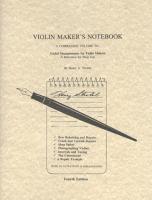 Violin Maker's Notebook