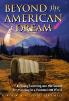 Beyond the American Dream